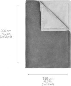 Dimensions de la couverture électrique Medisana HB 675